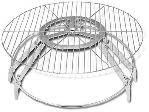 Campfire Genie BBQ Grill and Fire Pit, 22-Inch (Campfire Cooking Stand compare prices)