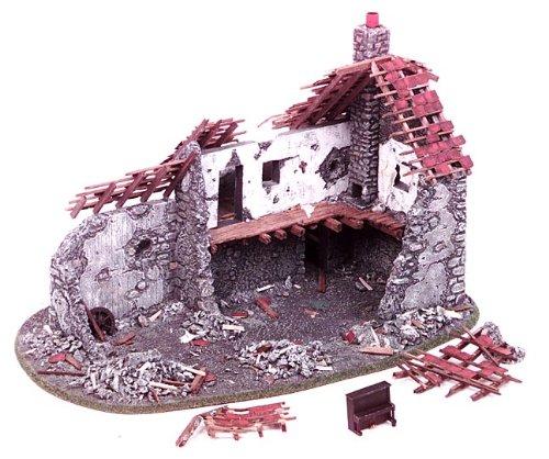 Miniature Building: Ruined Farm House