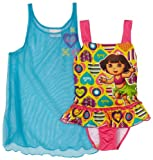 Dora Girls 2-6X Two Piece Swim Set