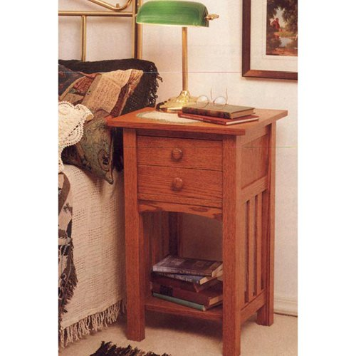 mission style end table plans free
