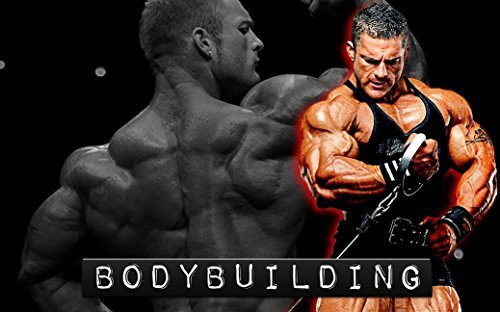 "Bodybuilding Fitness Motivation Motivational Fabric Cloth Rolled Wall Poster Print -- Size: (40"" x 24"" / 21"" x 13"") by NewBrightBase [並行輸入品]"