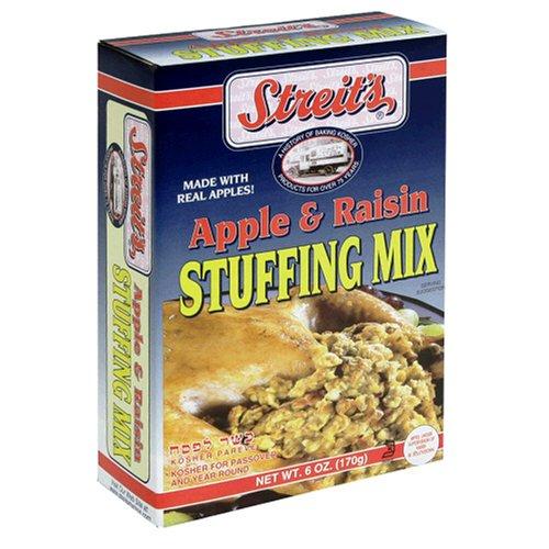 Streit's Apple Raisin Stuffing Mix, 6-Ounce Units (Pack of 12)
