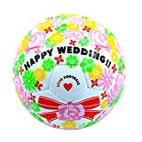 sfida(スフィーダ) Happy Wedding BSF-HW01 ホワイト フットサル4号球