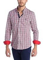 SIR RAYMOND TAILOR Camisa Hombre (Rojo)