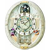 SEIKO CLOCK(セイコークロック) Disneyからくり時計(白) FW574W