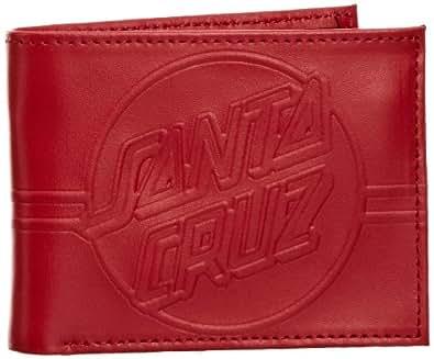 Santa Cruz Classic, Portefeuille et porte-monnaie homme - Rouge-V.7, Taille unique