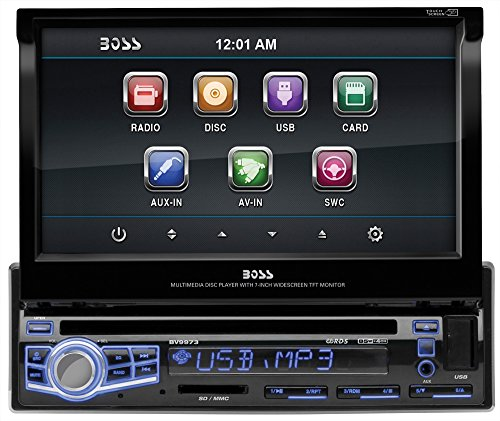 boss-audio-bv9973-single-din-7-inch-motorized-touchscreen-dvd-player-receiver-wireless-remote