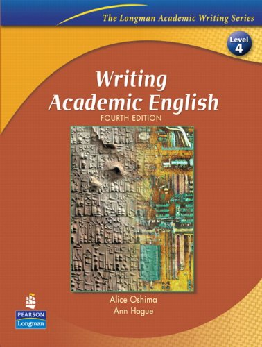 Writing Academic English, Fourth Edition (The Longman...