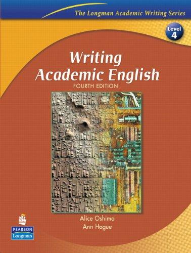 Writing Academic English, Fourth Edition (The Longman...
