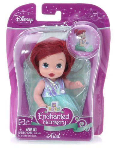Buy Low Price Mattel Ariel (K0185) – Disney Princess Enchanted Nursery 4″ Figure (B002R9FQ7O)