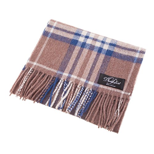 dunedin-100-lambswool-unisex-scottish-tartan-multicolor-scarf-beige-highlight-check-one-size