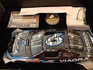Signed Mark Martin Jack Roush Auto 2003 Team Caliber 1:24 Die-Cast W  COA - New... by Sports Memorabilia