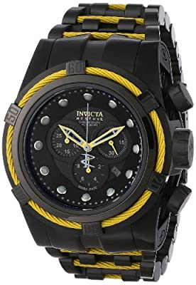 Invicta Men's 14063 Bolt Analog Display Swiss Quartz Black Watch