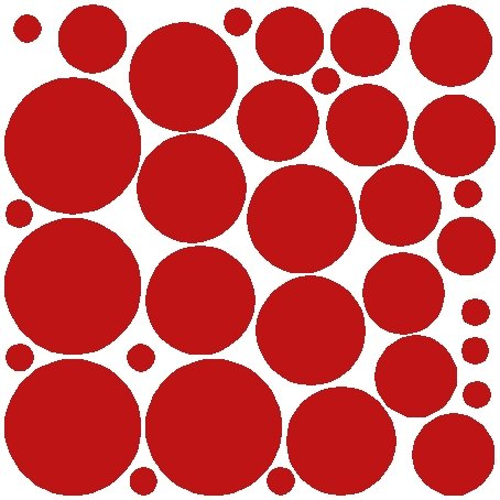 34 DARK RED POLKA DOTS..WALL STICKERS DECALS ART DECOR