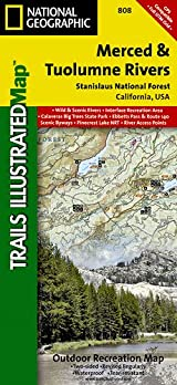 TI Map #808- Merced and Tuolumne Rivers/Stanislaus National Forest