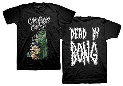 Cannabis Corpse Cop Bong Dead by Bong T-Shirt