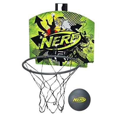Nerf N-Sports Nerfoop Set, Green/Grey by Nerf