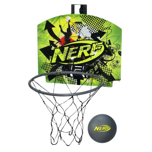Nerf N-Sports Nerfoop Set, Green/Grey