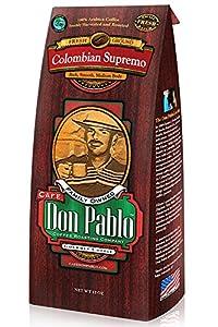 Café Don Pablo - Medium-Dark Ground - Columbian Supremo - 12oz Bag