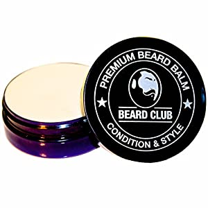 Premium Beard Balm | Cedarwood & Lime | Beard Club | The Best Beard Leave In Conditioner, Beard Softener & Styling Balm | Popular Supplement for Hair Care & Growth | Made in UK