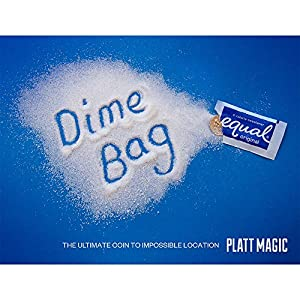 MMS Dime Bag (DVD and Gimmicks) by Platt Magic - Trick