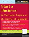 img - for Start a Business in Maryland, Virginia, or the District of Columbia (Legal Survival Guides) book / textbook / text book