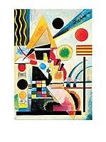 ArtopWeb Panel Decorativo Kandinsky Ondeggiamento, 1925 - 100x70 cm Multicolor