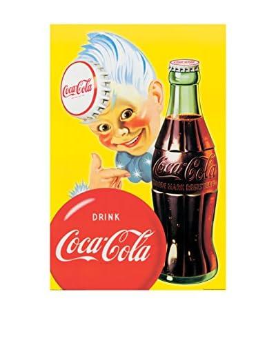 ArtopWeb Pannello Decorativo Coca Cola Gloss Black Framed Coke Sprite