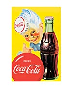 ArtopWeb Panel Decorativo Coca Cola Gloss Black Framed Coke Sprite