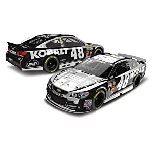 Jimmie Johnson 2013 Lowes Kobalt Tools Color Chrome 1:24 Lionel Diecast Car by Unknown
