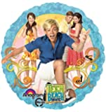 ONE balloon TEEN BEACH MOVIE new FOIL round PARTY favor GIFT decoration