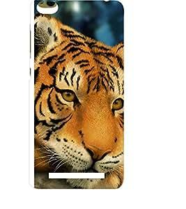 EPICCASE staring tiger Mobile Back Case Cover For Xiaomi 3S Prime (Designer Case)