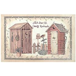 Avanti Linens Outhouses Rug Multi