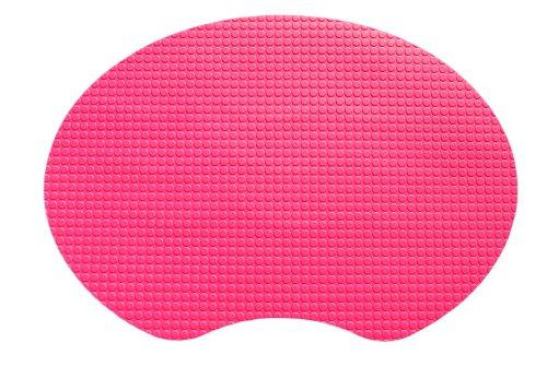 """Kidkusion 15"""" X 11"""" Gummi Mat, Pink"""