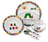 The World Of Eric Carle Very Hungry Caterpillar 5 Piece Feeding Set by Kids Preferred