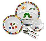 Kids Preferred The World Of Eric Carle Very Hungry Caterpillar 5 Piece Feeding Set