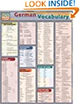 German Vocabulary (Quickstudy: Academic)