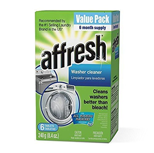 Affresh W10501250 Washer Machine Cleaner , Safe on septic tanks 6-Tablets, 8.4 oz (Kenmore Stackable Lint Filter compare prices)
