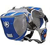 Petown Dog BackPack Harness Quick Release Carriers (Medium)