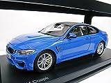 BMW特注 1/18 BMW M4 クーペ (ブルー) 2014年 F82
