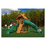 51WqXxjfWUL. SL160  Gorilla Playsets Blue Ridge Mountaineer Playground System