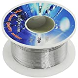1 X Solid Solder 0.3mm Dia Flux Core 63% Tin 37% Lead Long Wire Reel