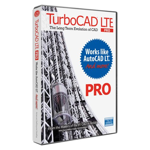 Turbocad Lte Pro 2D & 3D Cad Design Software. Works Like Autocad Lt!