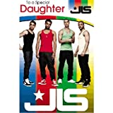 JLS - Daughter Birthday Card