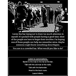 Interactive Fiction comes to the Kindle - Dusk World e-Reading Software