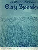 Album of Songs By Oley Speaks