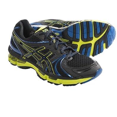ASICS Men's GEL-Kayano 18 Running Shoe (10 (D), Onyx/Black/Lime)