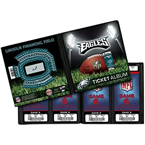 NFL Washington Redskins Ticket Album by That