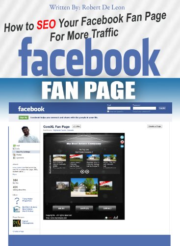 How To Seo Your Facebook Fan Page For More Traffic