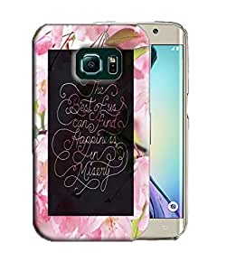 PrintFunny Designer Printed Case For Samsung Galaxy S6 Edge